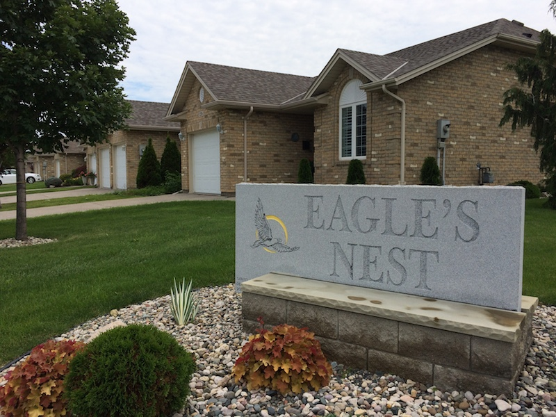 Eagles Nest Sign
