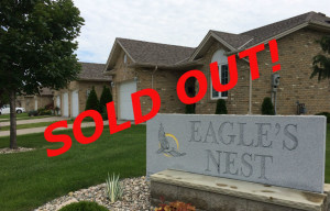 eagles nest townhomes - sold out