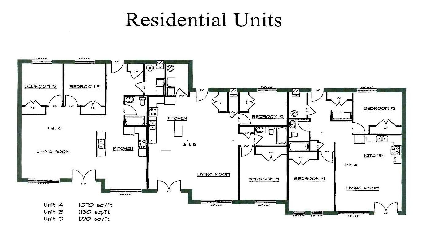photo of residential floor plan for 111 sandwich by norbuilt