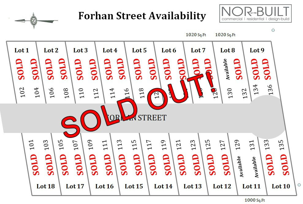 sold out map